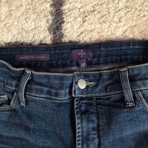 NYDJ Jeans - NYDJ 16P Marilyn Straight Leg Jeans